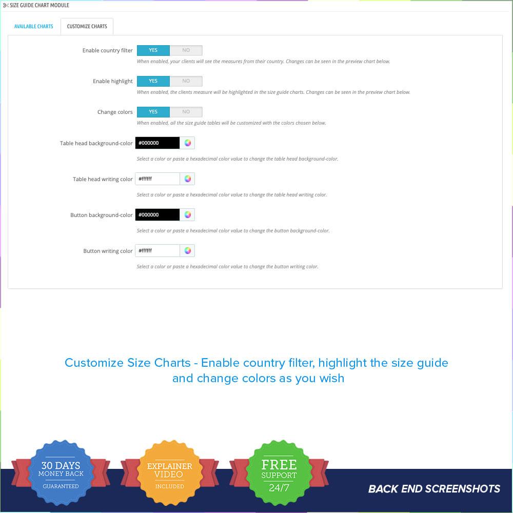 module - Omvang en eenheden - Size Guidance - Product Size Chart - 7