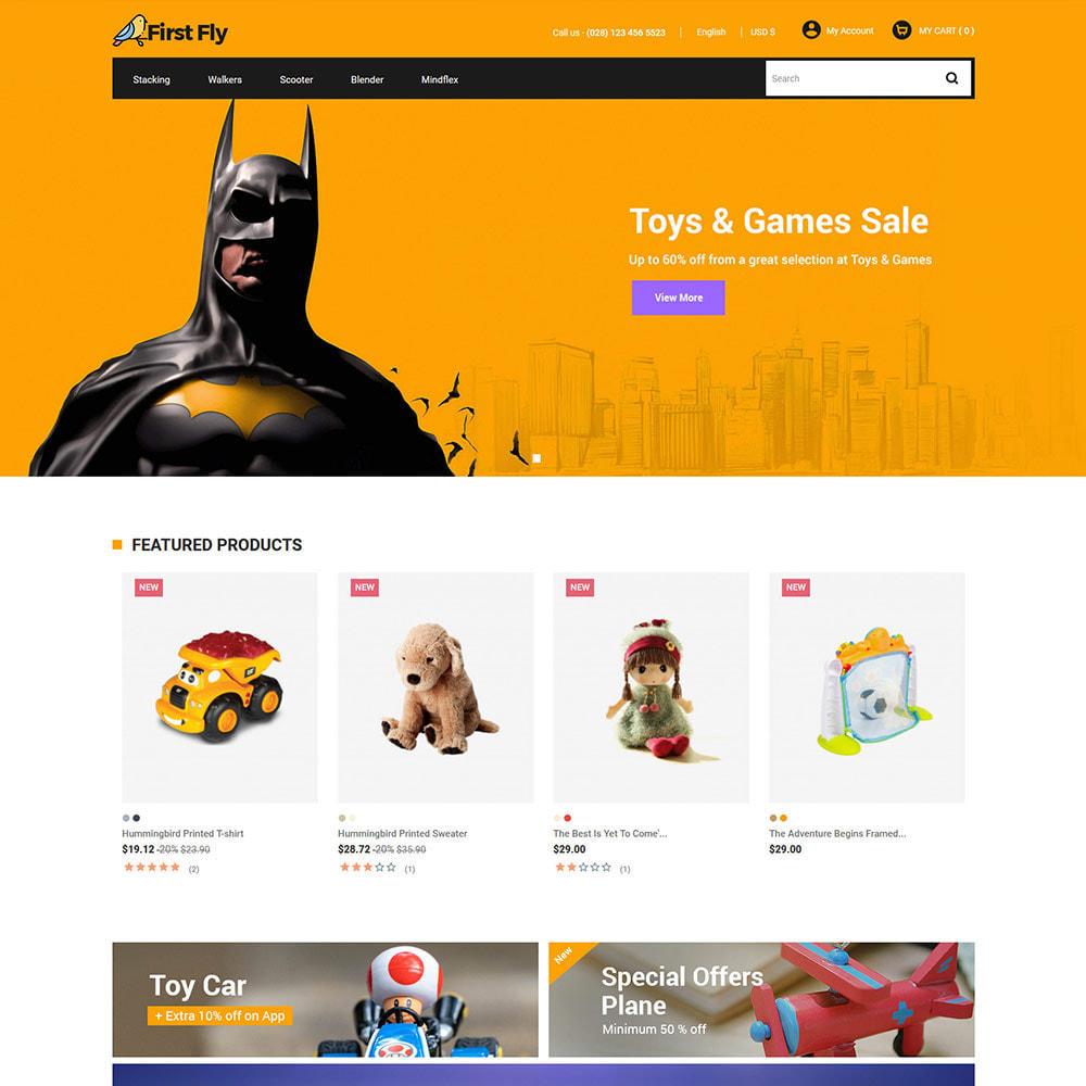 theme - Animales y Mascotas - First Fly Pet - Tienda de alimentos para animales - 3