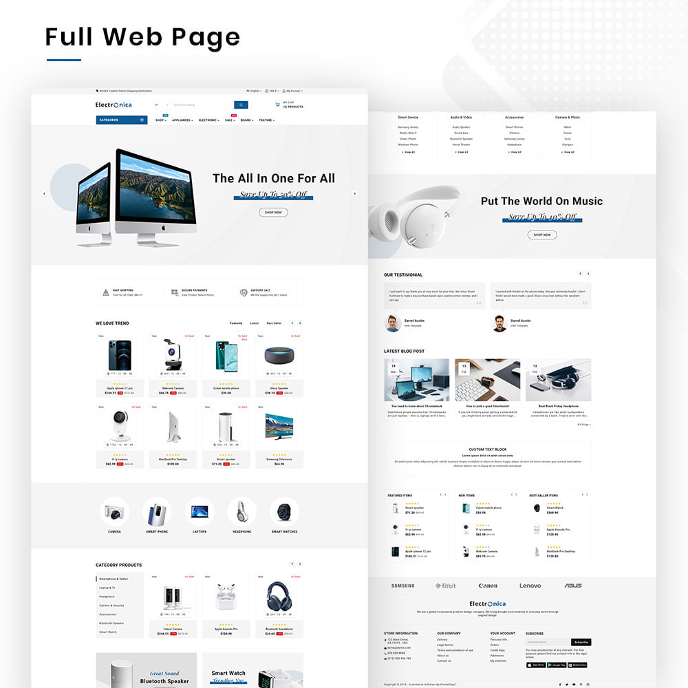 theme - Elektronika & High Tech - Electrónica Mega Electronics–Hightech Super Store - 2