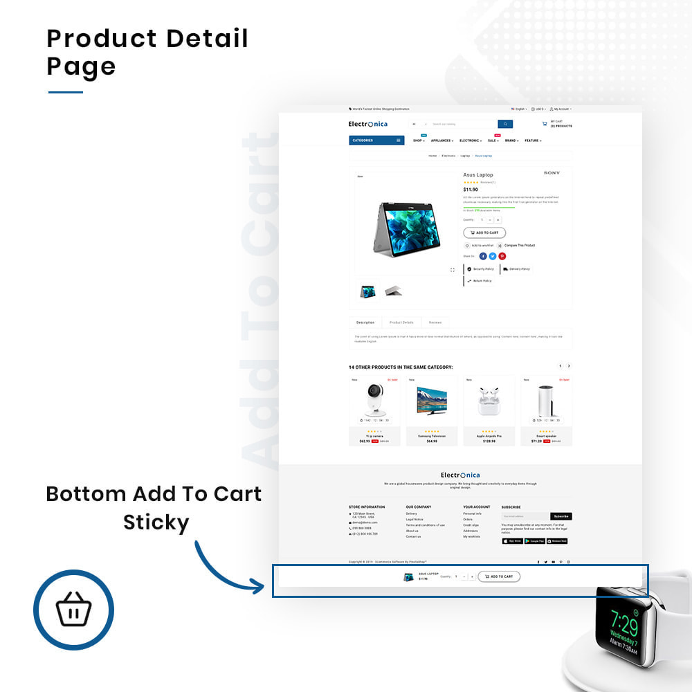 theme - Elektronika & High Tech - Electrónica Mega Electronics–Hightech Super Store - 4