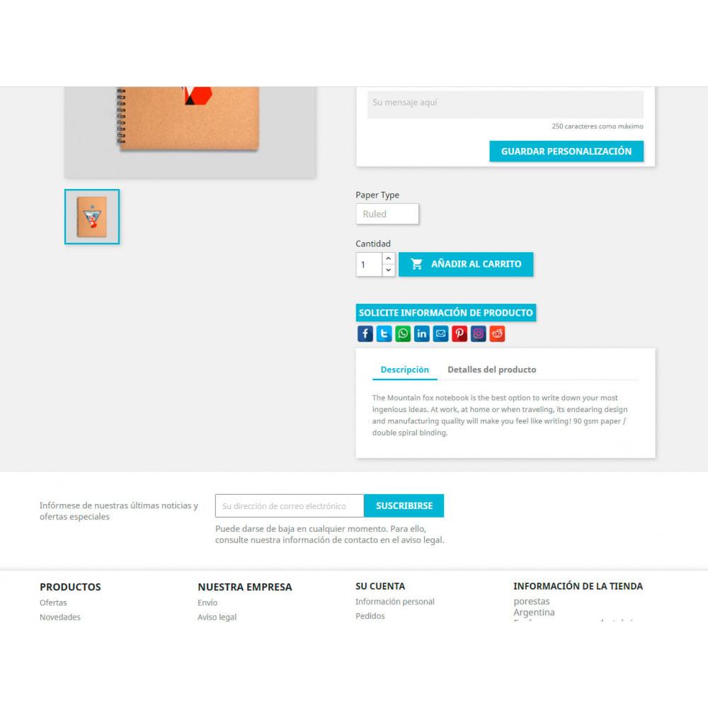 module - Boutons de Partage & Commentaires - CoolShare Plus Social networks - 2