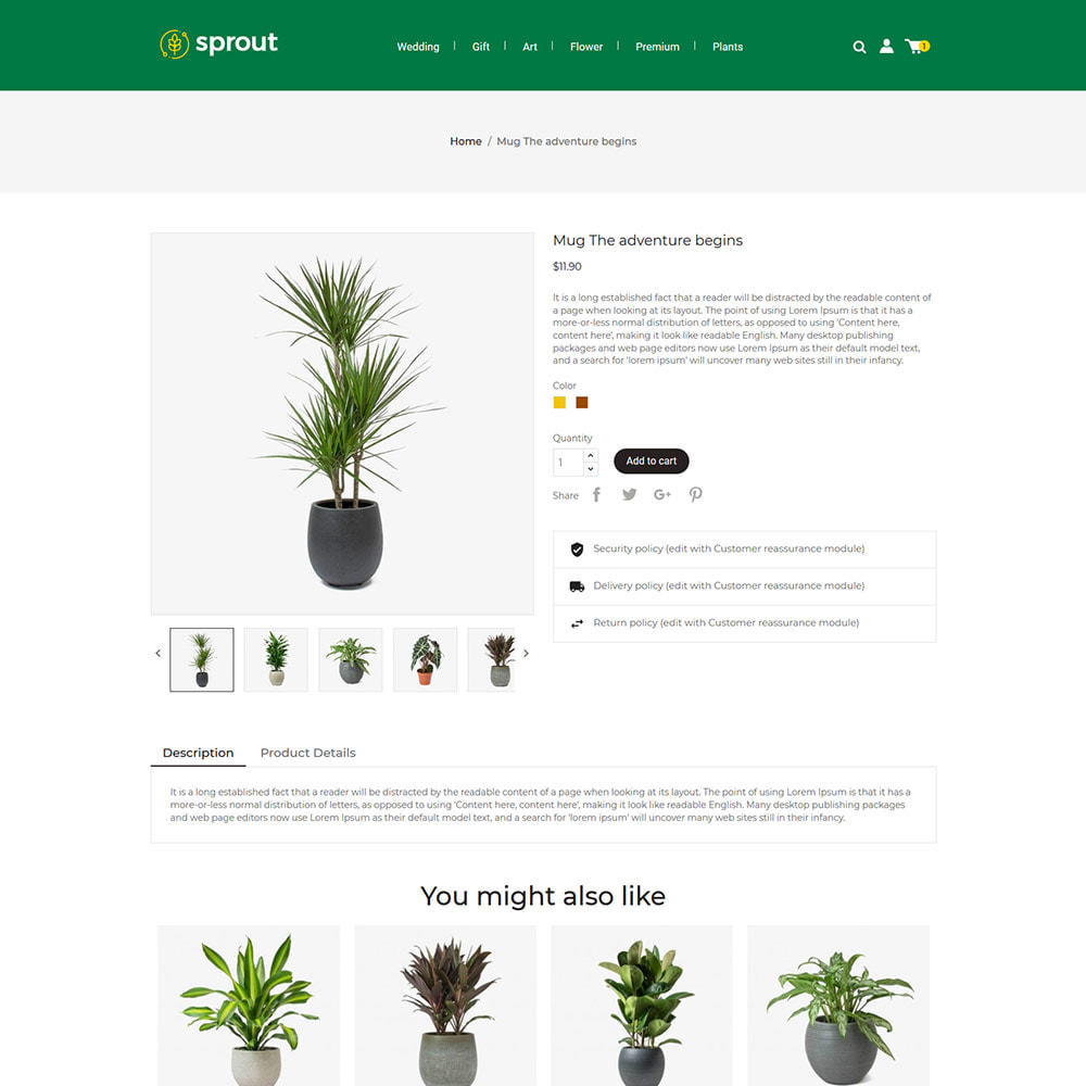 theme - Huis & Buitenleven - Sprout Plant - Tree  Natural Flower Store - 4