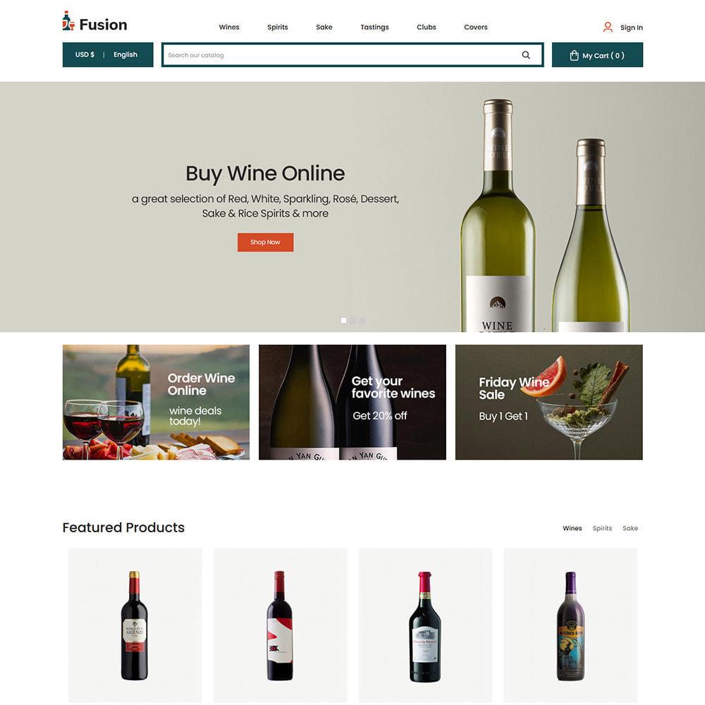theme - Template PrestaShop - Fusion Wine - Computer Digital Drone Store - 3
