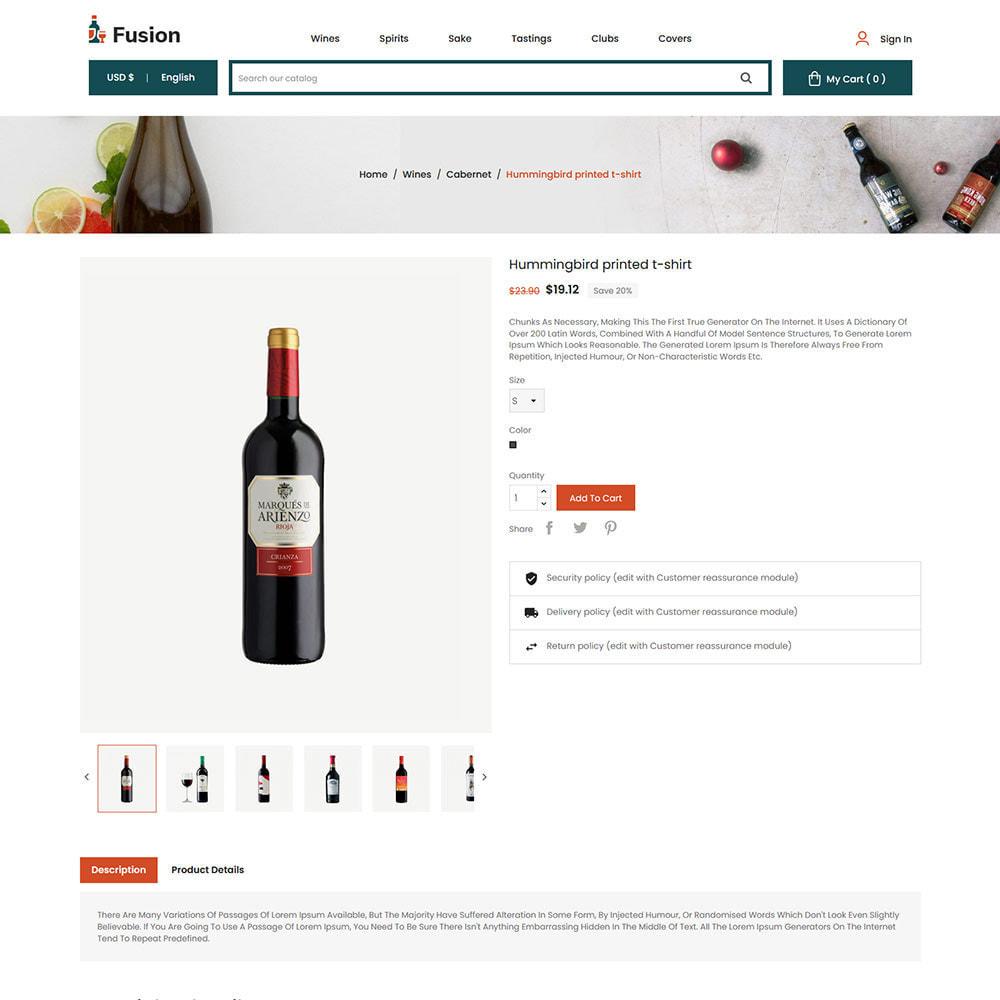 theme - Template PrestaShop - Fusion Wine - Computer Digital Drone Store - 6
