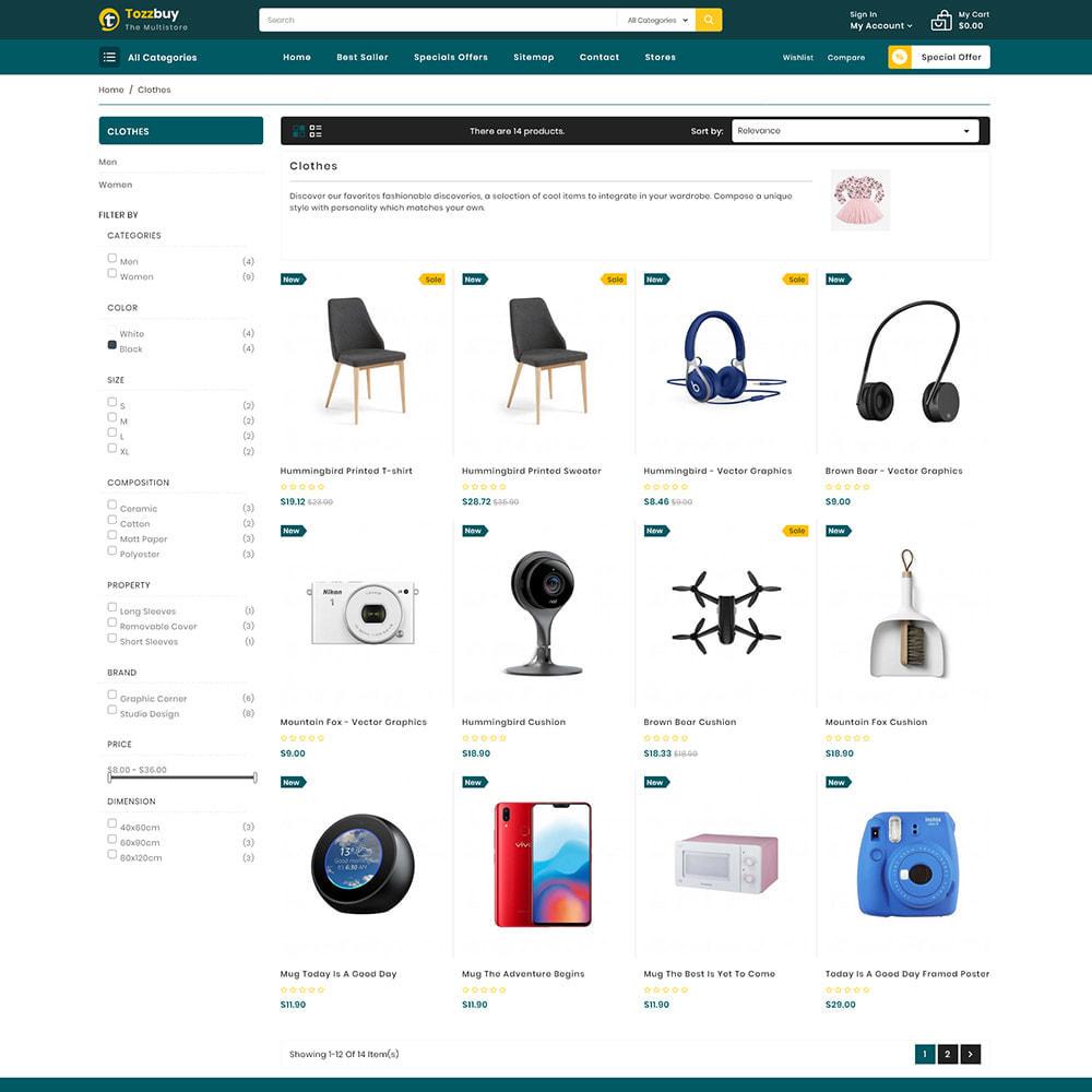 theme - Elektronika & High Tech - Tozzbuy - Super Market Multipurpose Store - 3