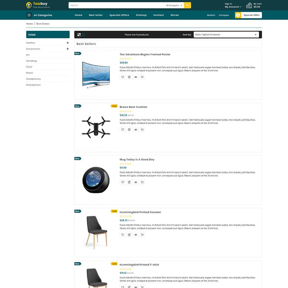 theme - Elektronika & High Tech - Tozzbuy - Super Market Multipurpose Store - 4