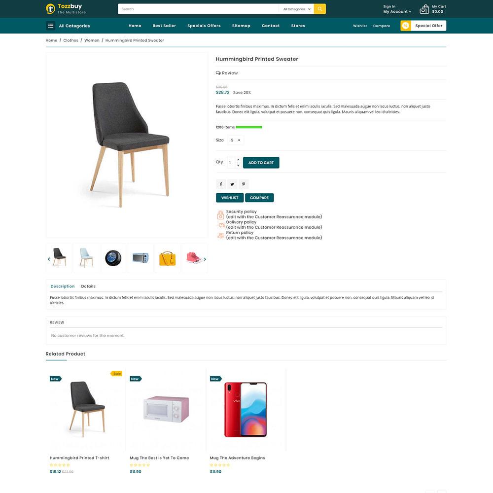 theme - Elektronika & High Tech - Tozzbuy - Super Market Multipurpose Store - 5
