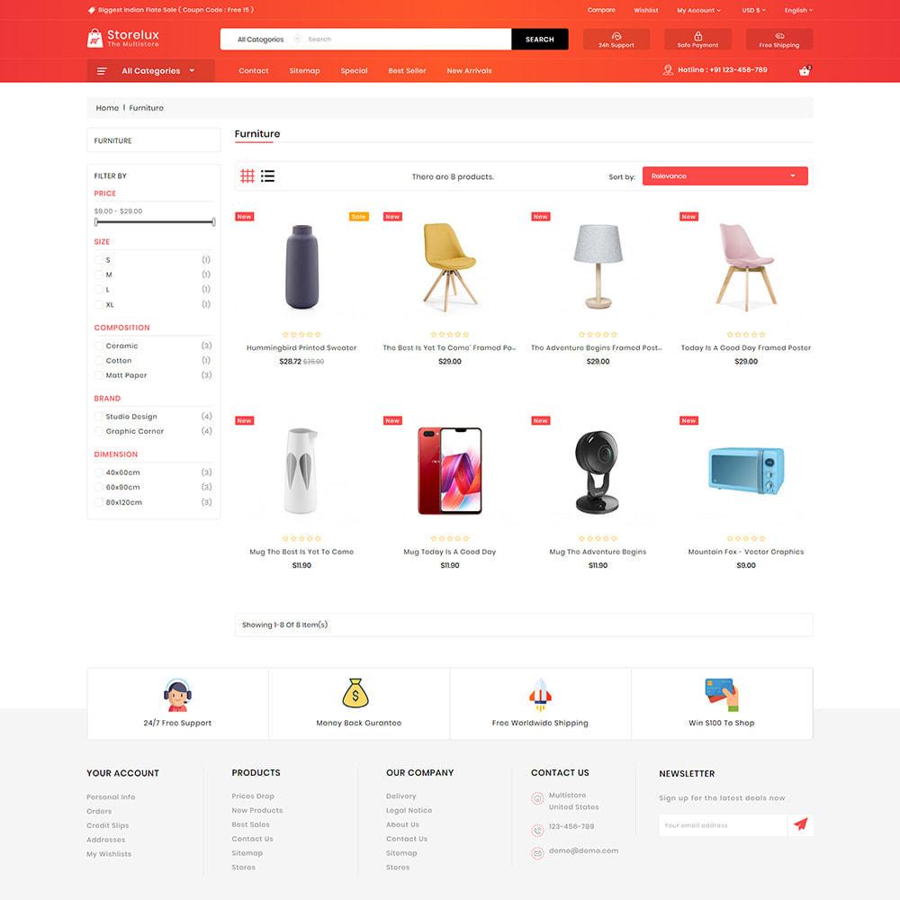 theme - Electronics & Computers - Storelux - Multipurpose Furniture Store - 3