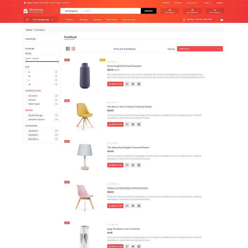 theme - Electronics & Computers - Storelux - Multipurpose Furniture Store - 4