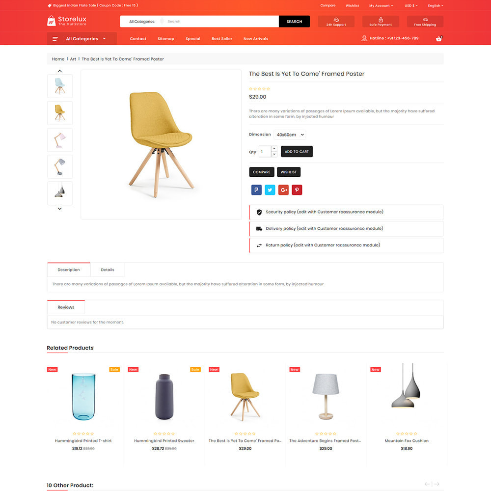 theme - Electronics & Computers - Storelux - Multipurpose Furniture Store - 5