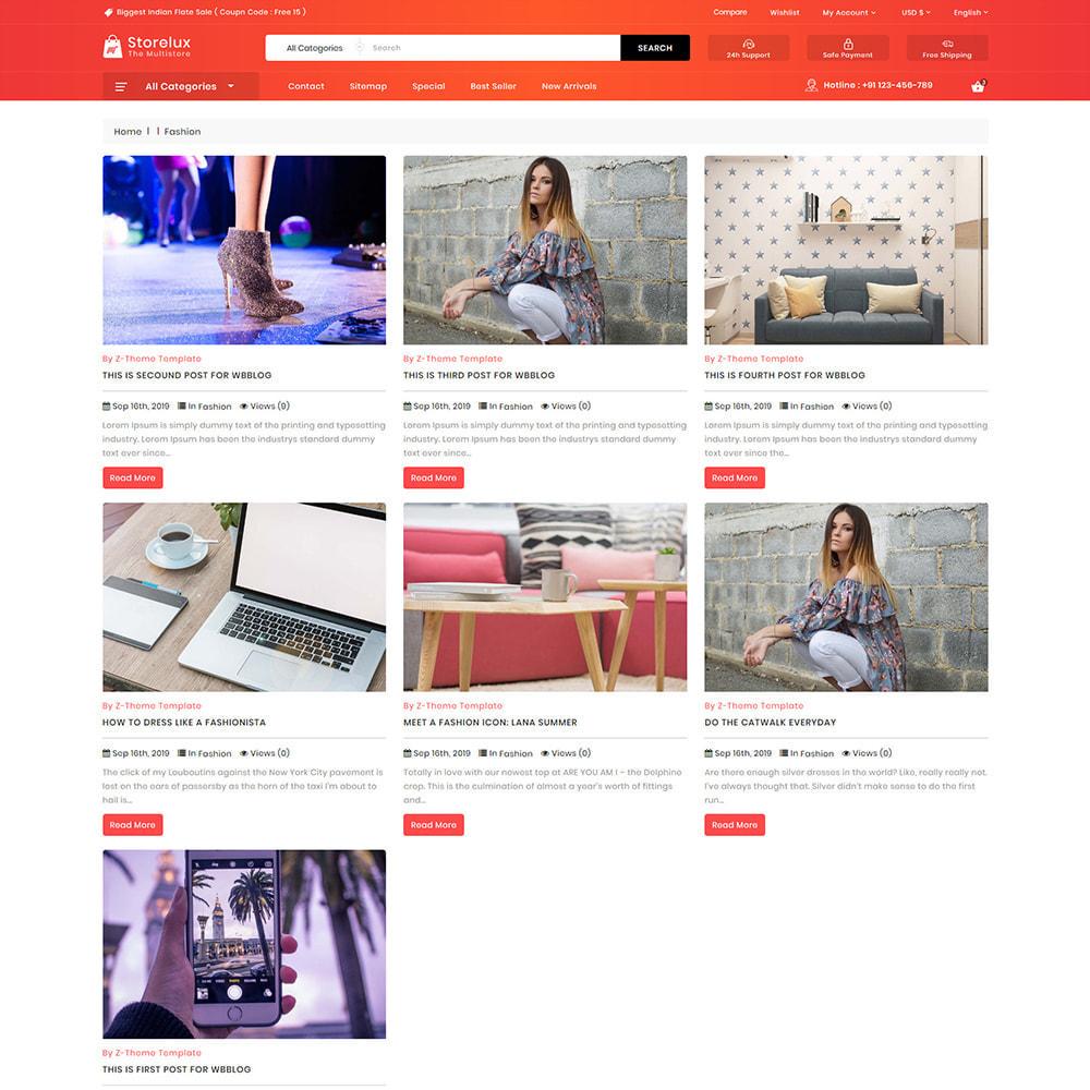 theme - Electronics & Computers - Storelux - Multipurpose Furniture Store - 6