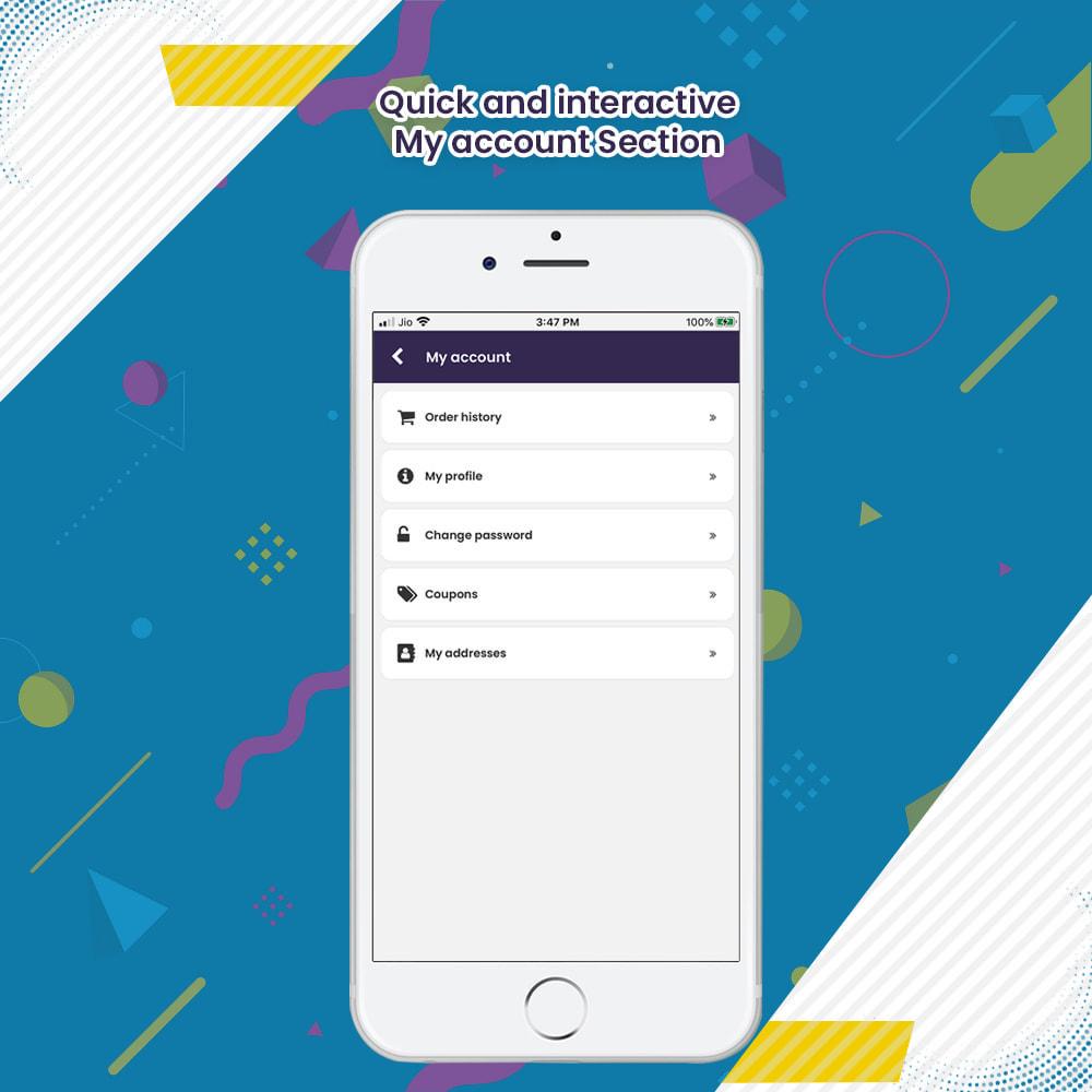 module - Мобильный телефон - eStore2App Android and iOS Mobile App Builder - 26