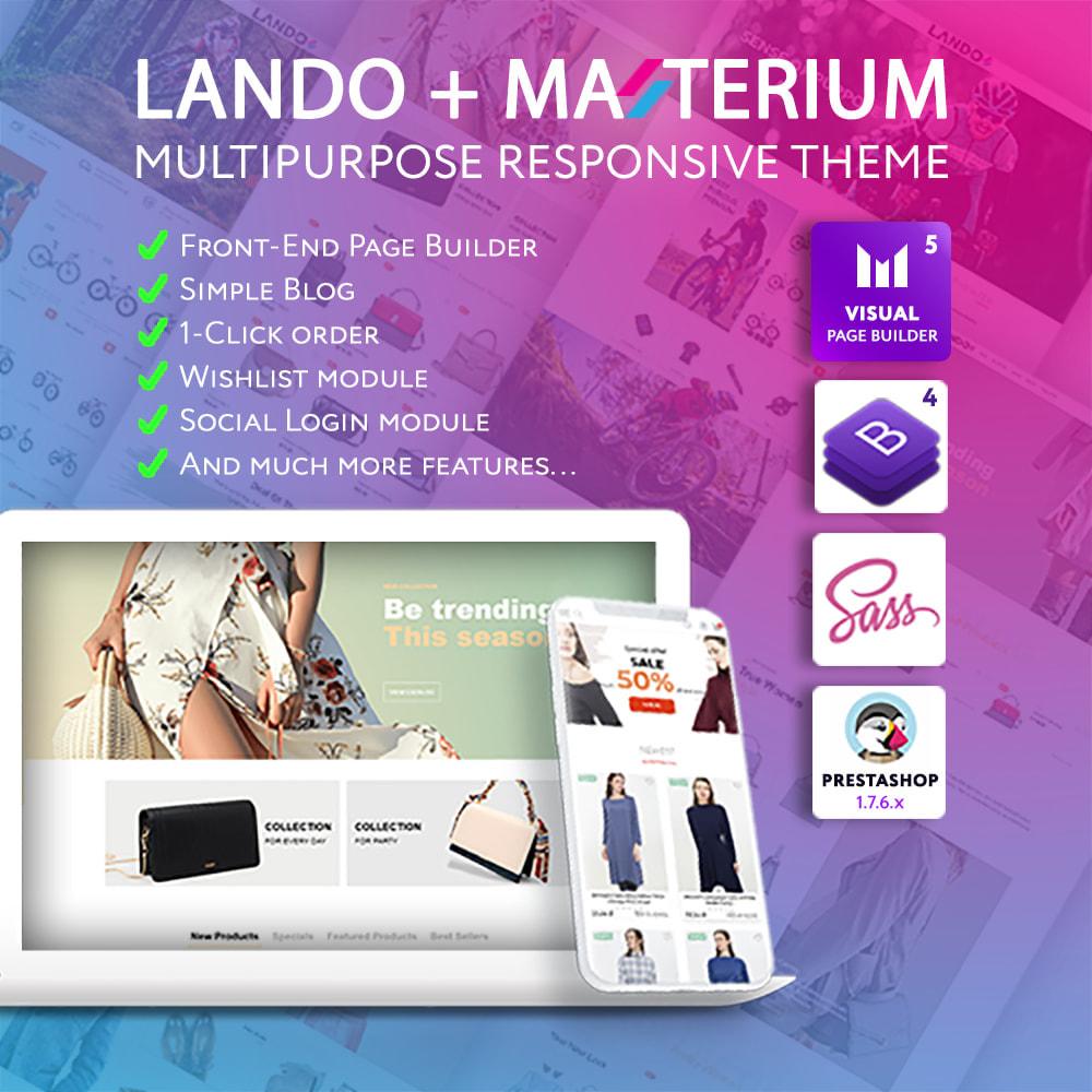 theme - Mode & Chaussures - Lando - Modern Multipurpose Online Store - 1