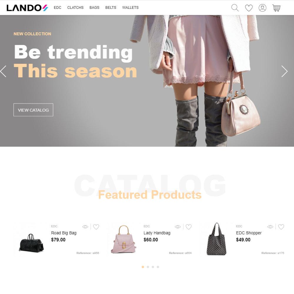 theme - Mode & Chaussures - Lando - Modern Multipurpose Online Store - 2