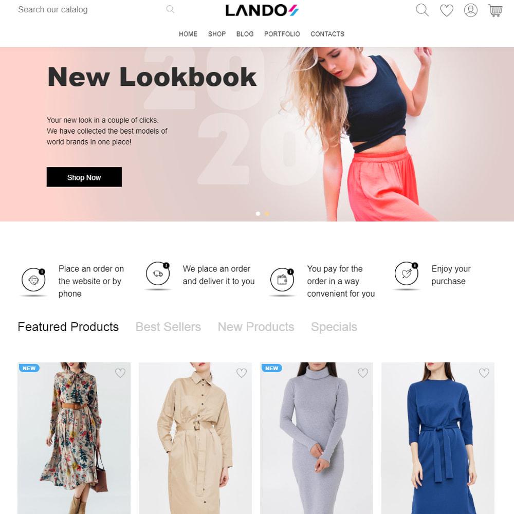 theme - Mode & Chaussures - Lando - Modern Multipurpose Online Store - 4