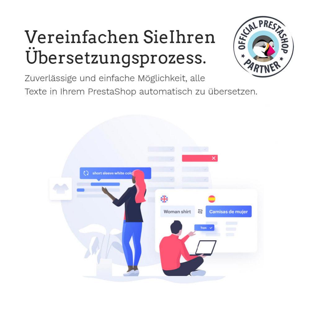 module - Internationalisierung & Lokalisierung - Übersetzen Sie Ihren PrestaShop in mehr als 50 Sprachen - 3