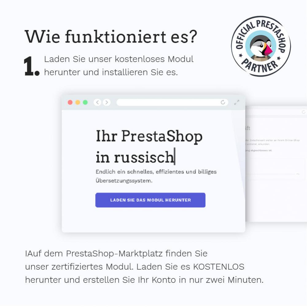 module - Internationalisierung & Lokalisierung - Übersetzen Sie Ihren PrestaShop in mehr als 50 Sprachen - 4