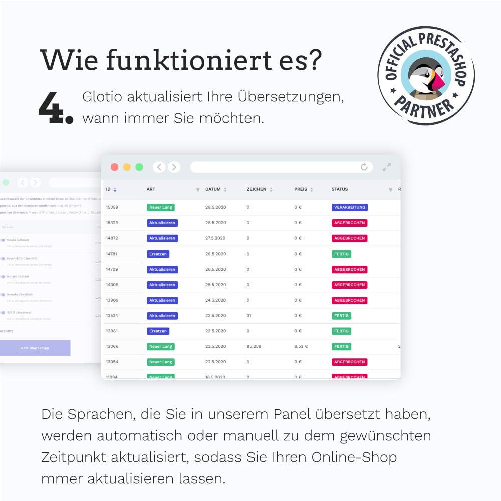 module - Internationalisierung & Lokalisierung - Übersetzen Sie Ihren PrestaShop in mehr als 50 Sprachen - 7