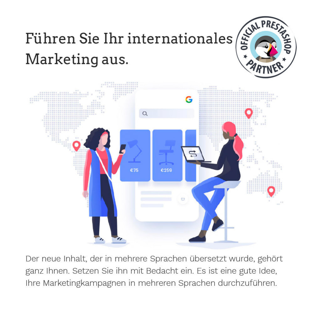 module - Internationalisierung & Lokalisierung - Übersetzen Sie Ihren PrestaShop in mehr als 50 Sprachen - 12