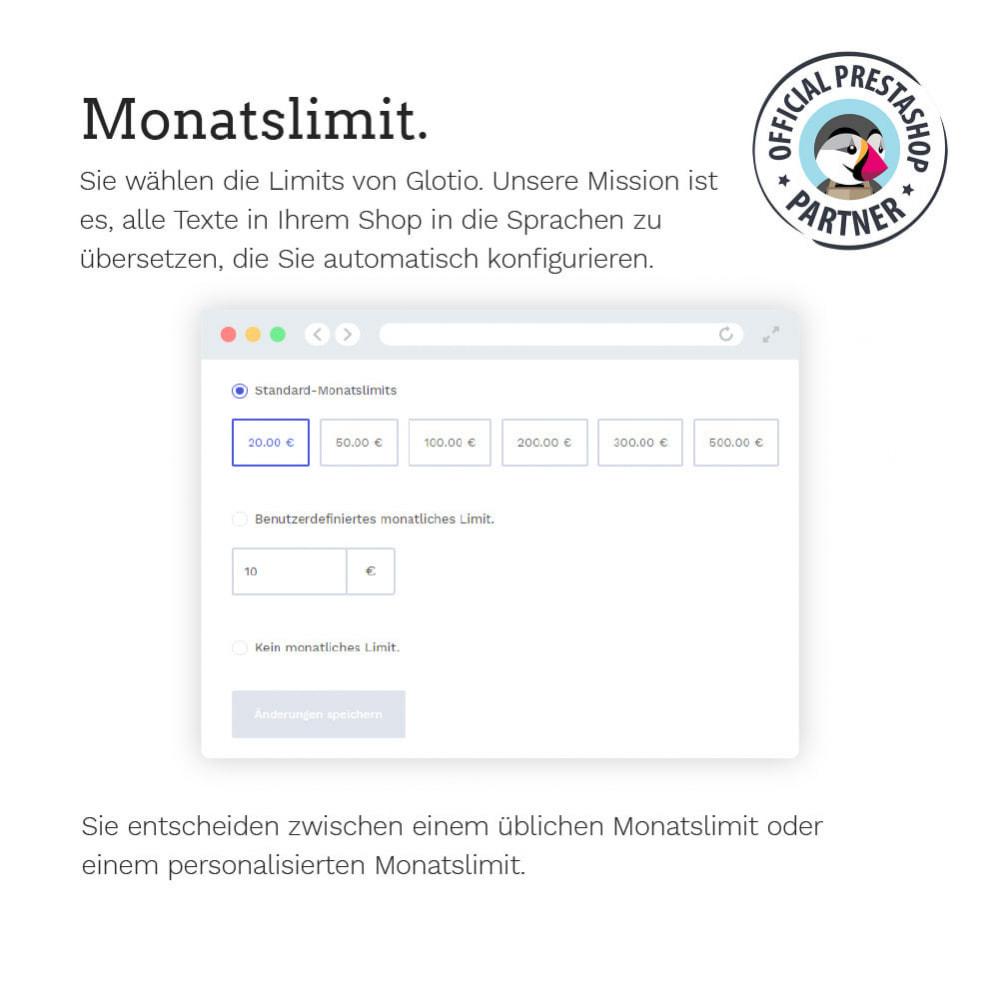 module - Internationalisierung & Lokalisierung - Übersetzen Sie Ihren PrestaShop in mehr als 50 Sprachen - 13