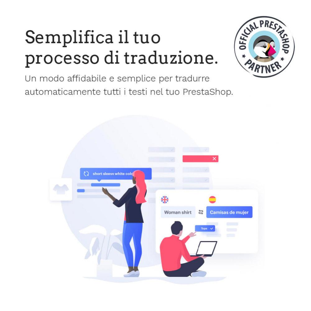 module - Lingue & Traduzioni - Glotio - Traduci il tuo PrestaShop in oltre 50 lingue - 3