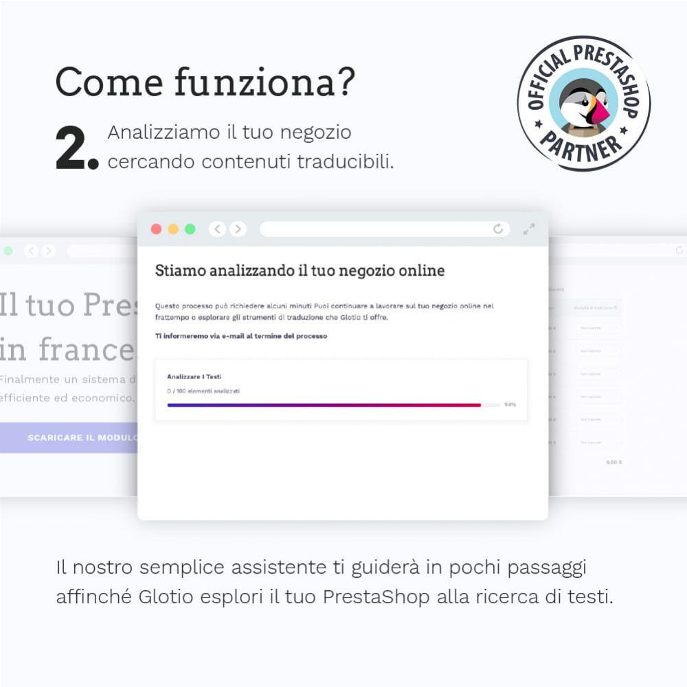 module - Lingue & Traduzioni - Glotio - Traduci il tuo PrestaShop in oltre 50 lingue - 5