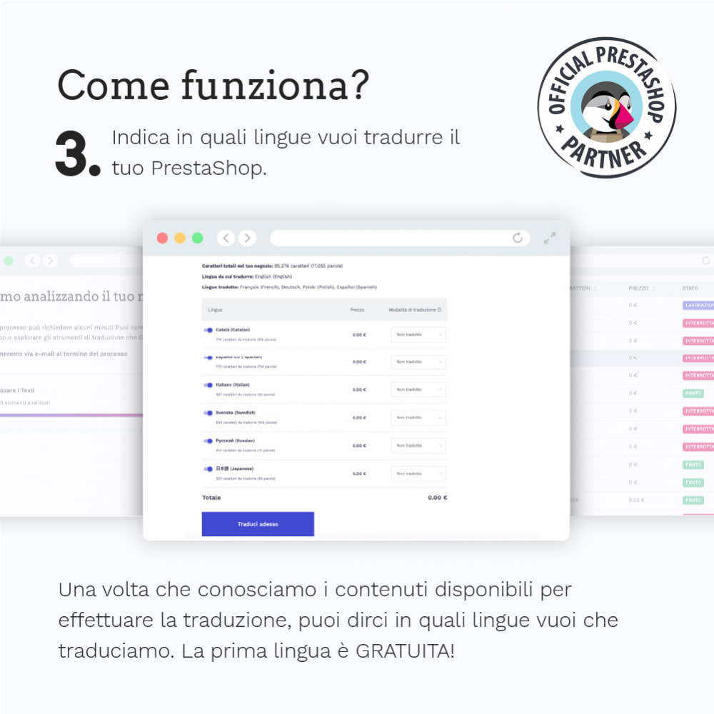 module - Lingue & Traduzioni - Glotio - Traduci il tuo PrestaShop in oltre 50 lingue - 6