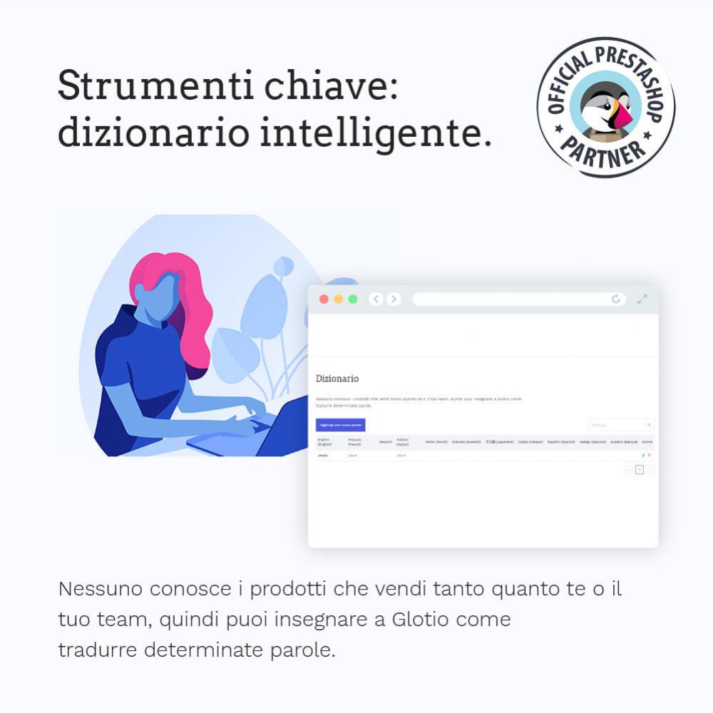 module - Lingue & Traduzioni - Glotio - Traduci il tuo PrestaShop in oltre 50 lingue - 8