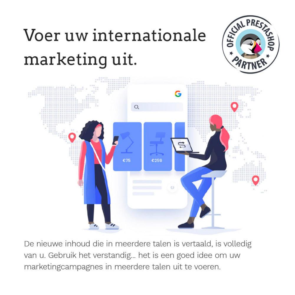 module - Internationaal & Lokalisatie - Glotio - Vertaal uw PrestaShop in meer dan 50 talen - 12