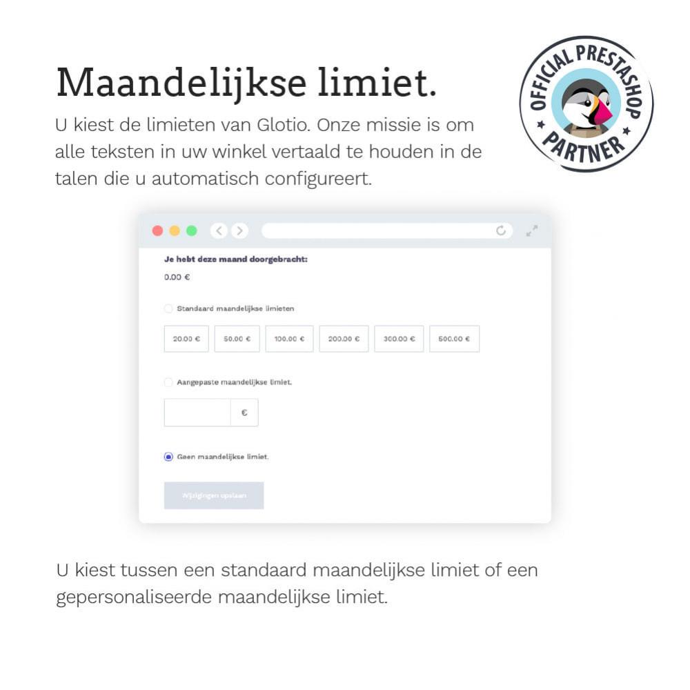 module - Internationaal & Lokalisatie - Glotio - Vertaal uw PrestaShop in meer dan 50 talen - 14