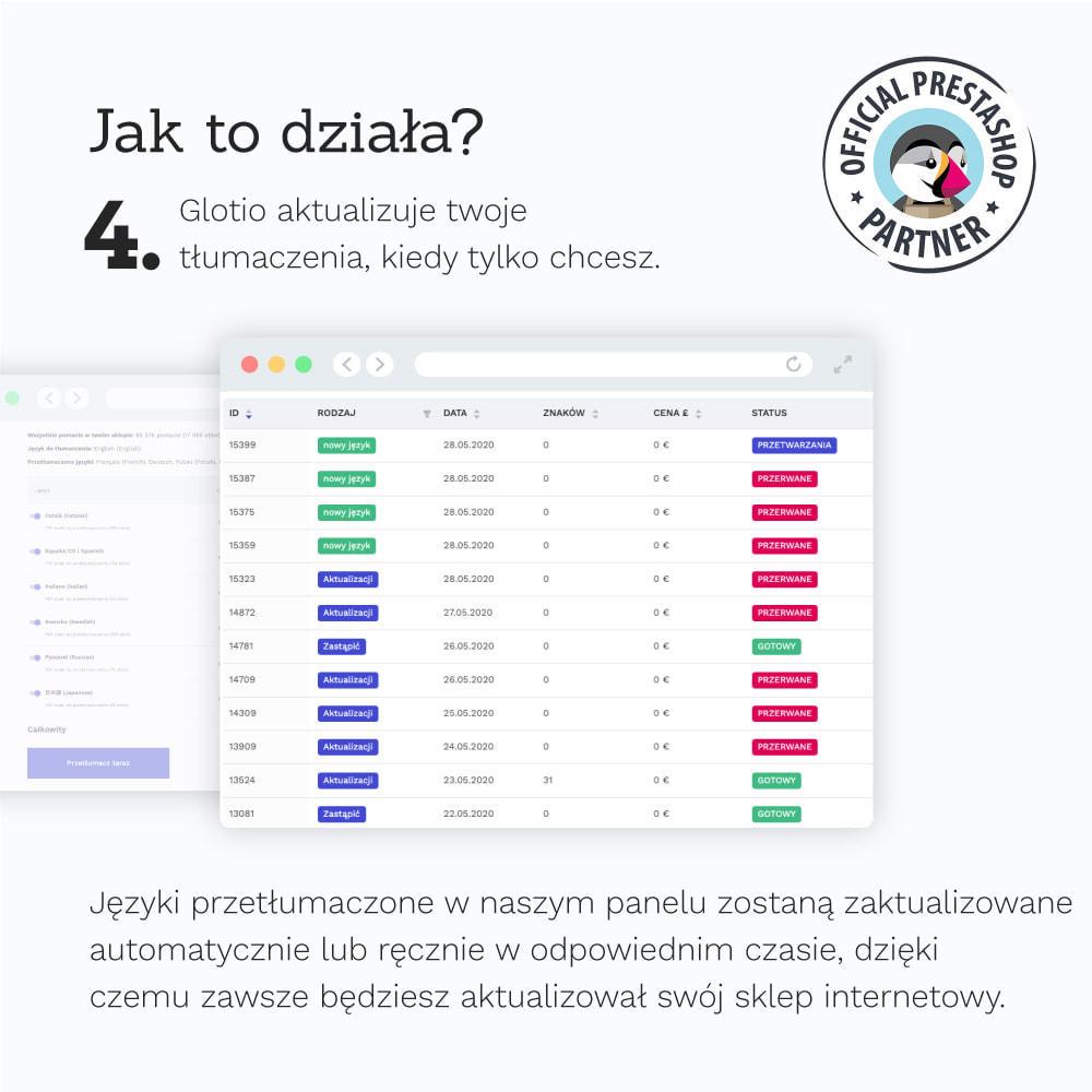 module - Międzynarodowość & Lokalizacja - Glotio-Przetłumacz swój PrestaShop na ponad 50 języków - 7