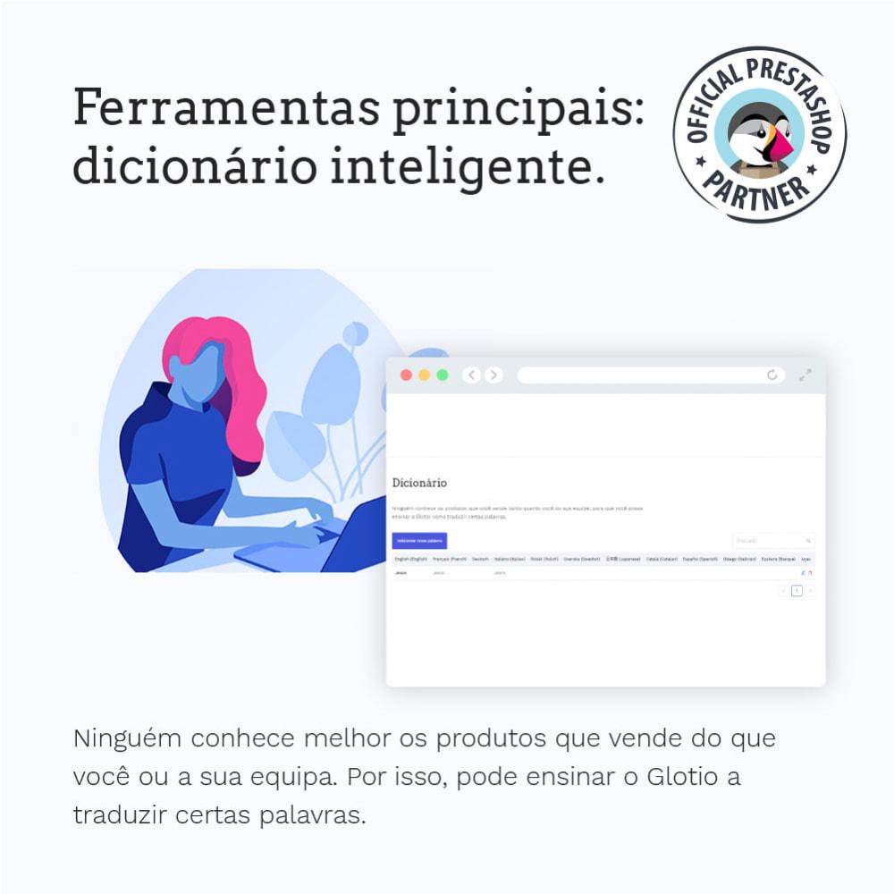 module - Internacional & Localização - Glotio - Traduza a sua PrestaShop em mais de 50 idiomas - 8