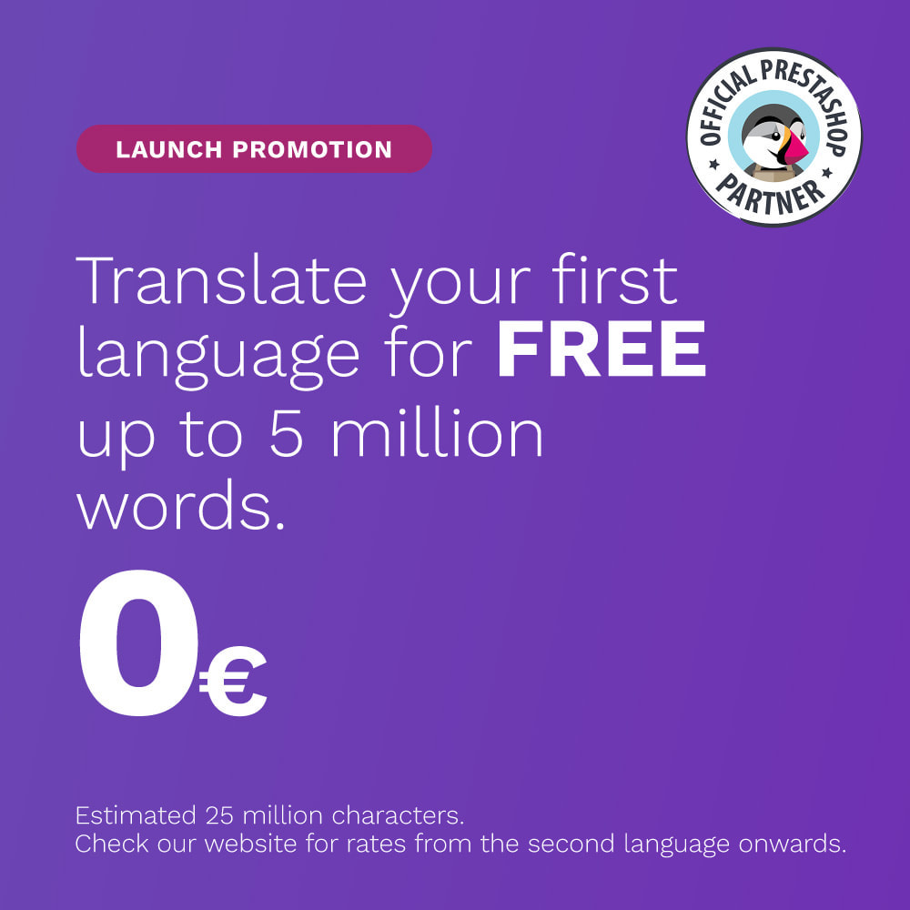 module - International & Localization - Glotio - Translate your PrestaShop in over 50 languages - 1