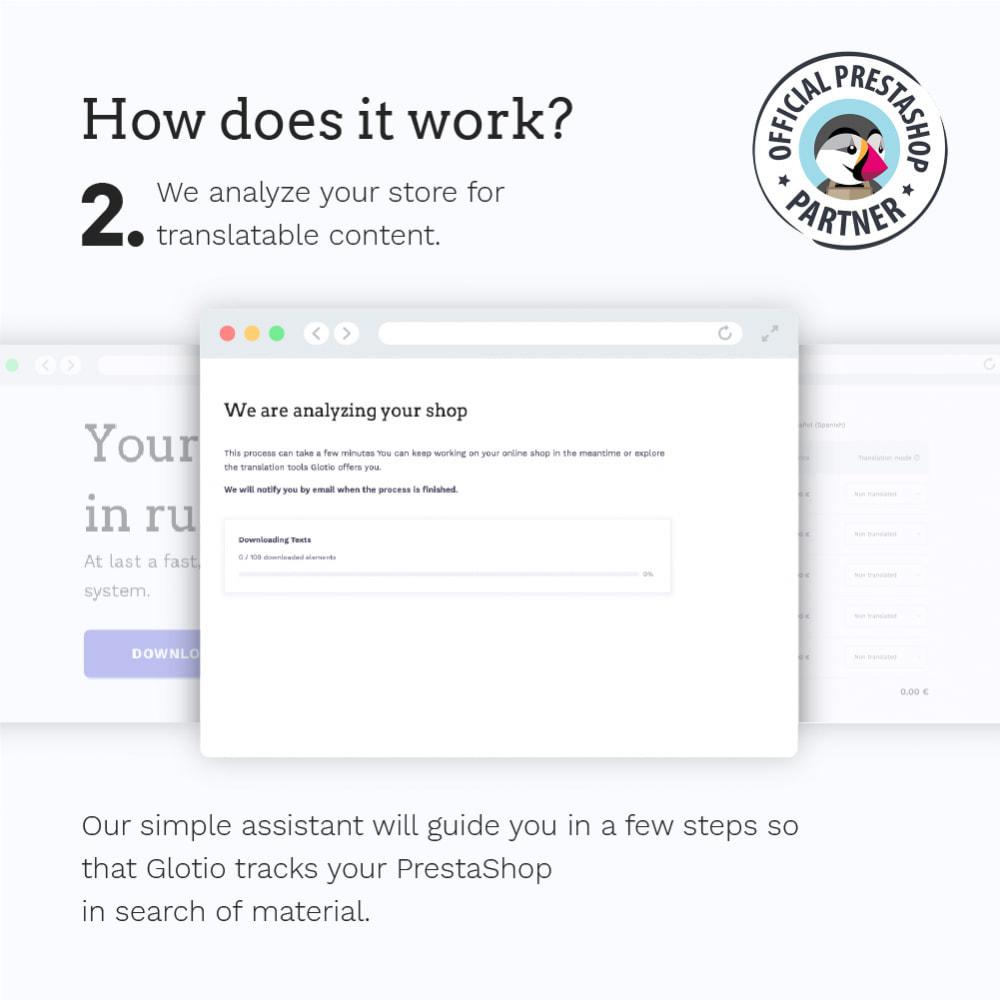 module - International & Localization - Glotio - Translate your PrestaShop in over 50 languages - 5