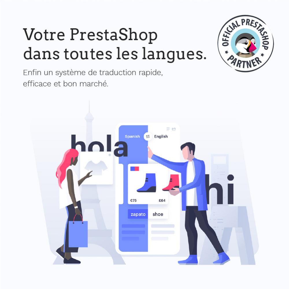 module - International & Localisation - Glotio -Traduisez PrestaShop dans plus de 50langues - 2