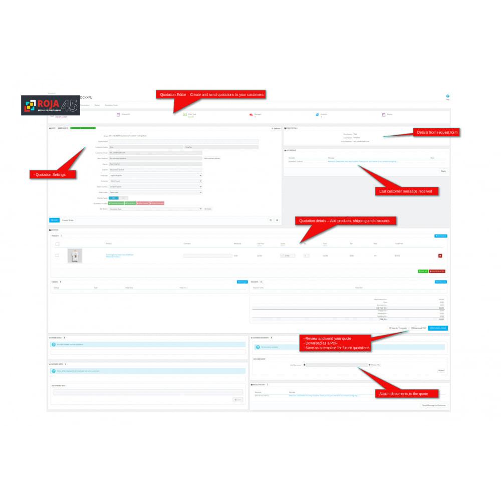 module - Presupuestos - Roja45:Cotizaciones Pro - Recibir y Enviar Cotizaciones - 7