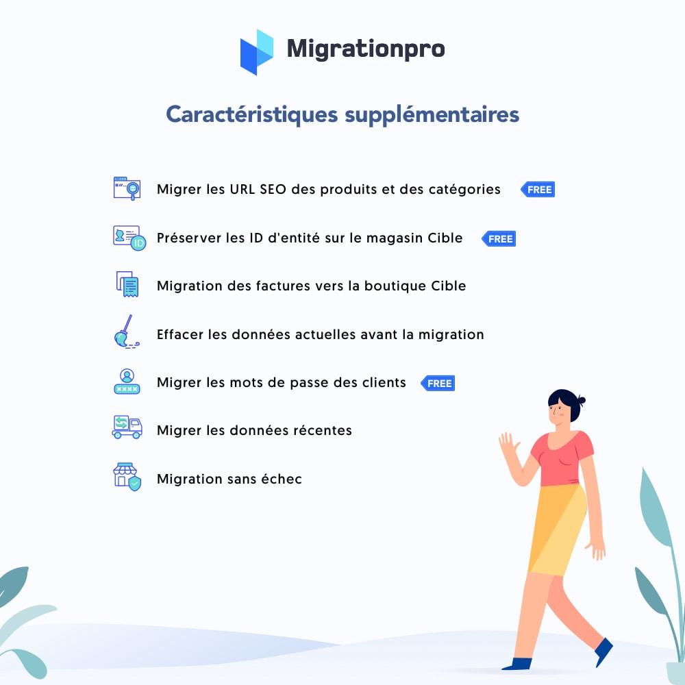 module - Migration de Données & Sauvegarde - Outil de migration WooCommerce vers PrestaShop - 5