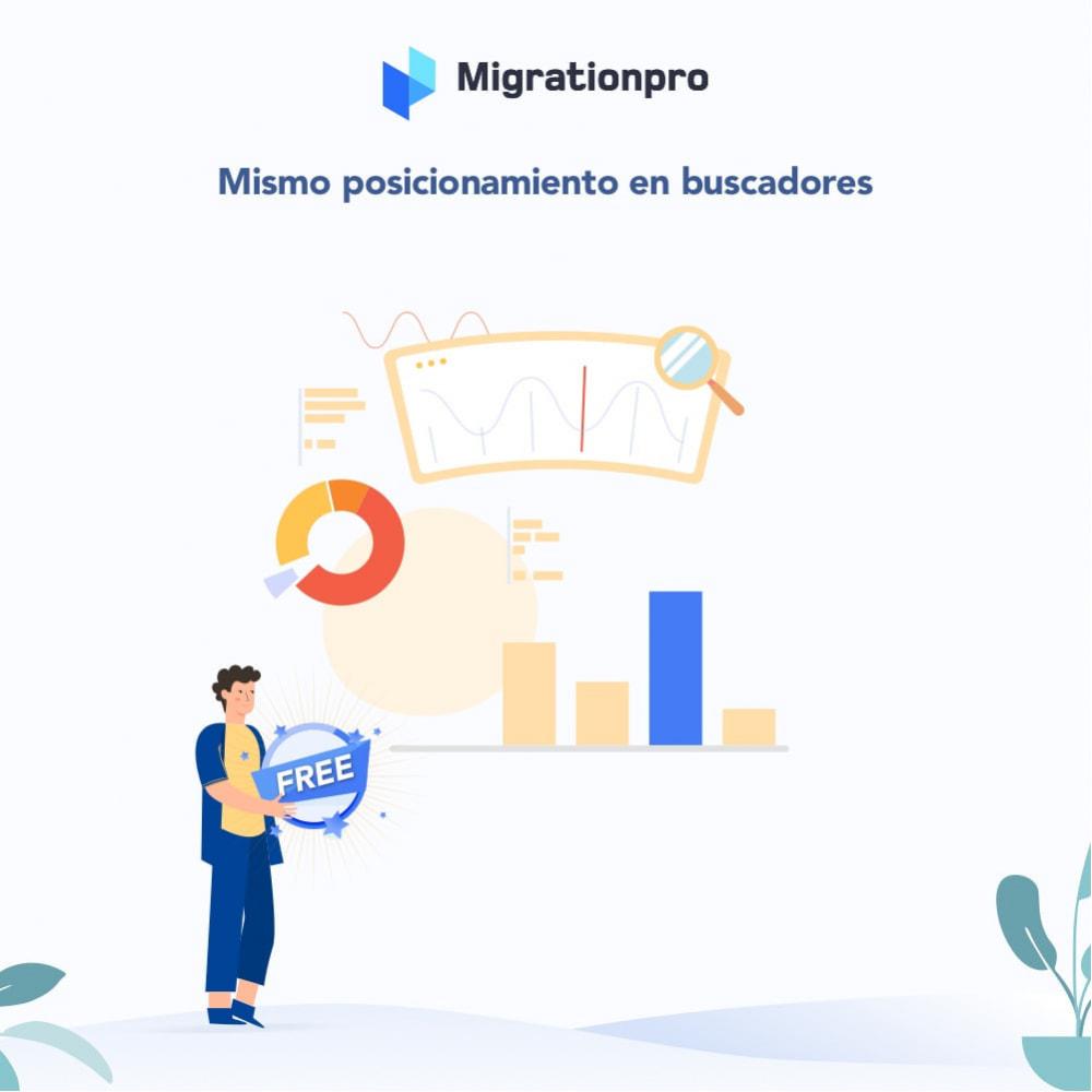 module - Migración y Copias de seguridad - Herramienta de migración de WooCommerce a PrestaShop - 3