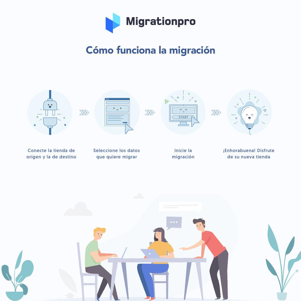 module - Migración y Copias de seguridad - Herramienta de migración de WooCommerce a PrestaShop - 7
