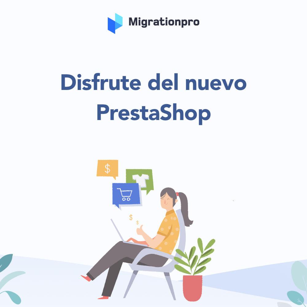 module - Migración y Copias de seguridad - Herramienta de migración de WooCommerce a PrestaShop - 9