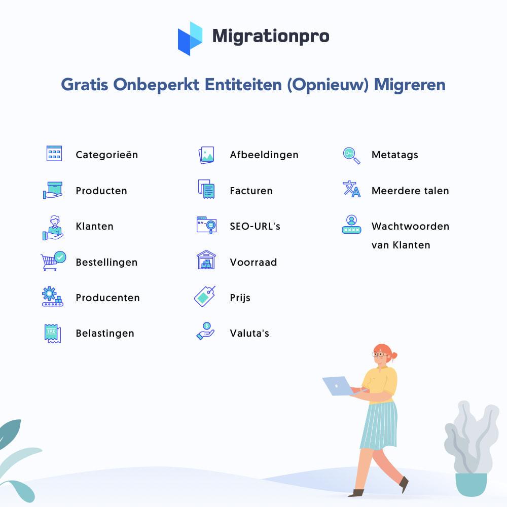 module - Migratie & Backup - WooCommerce naar PrestaShop migratie- tool - 2