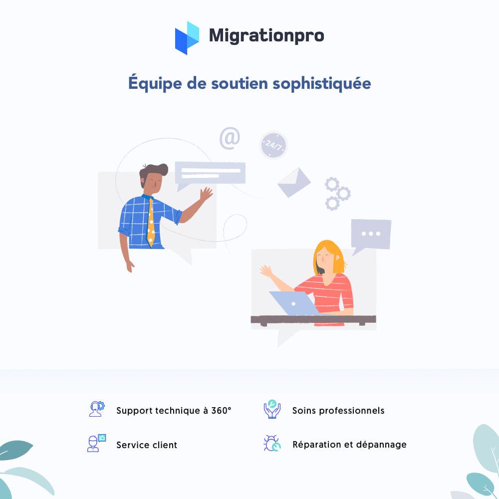 module - Migration de Données & Sauvegarde - Outil de migration Magento vers  PrestaShop - 8