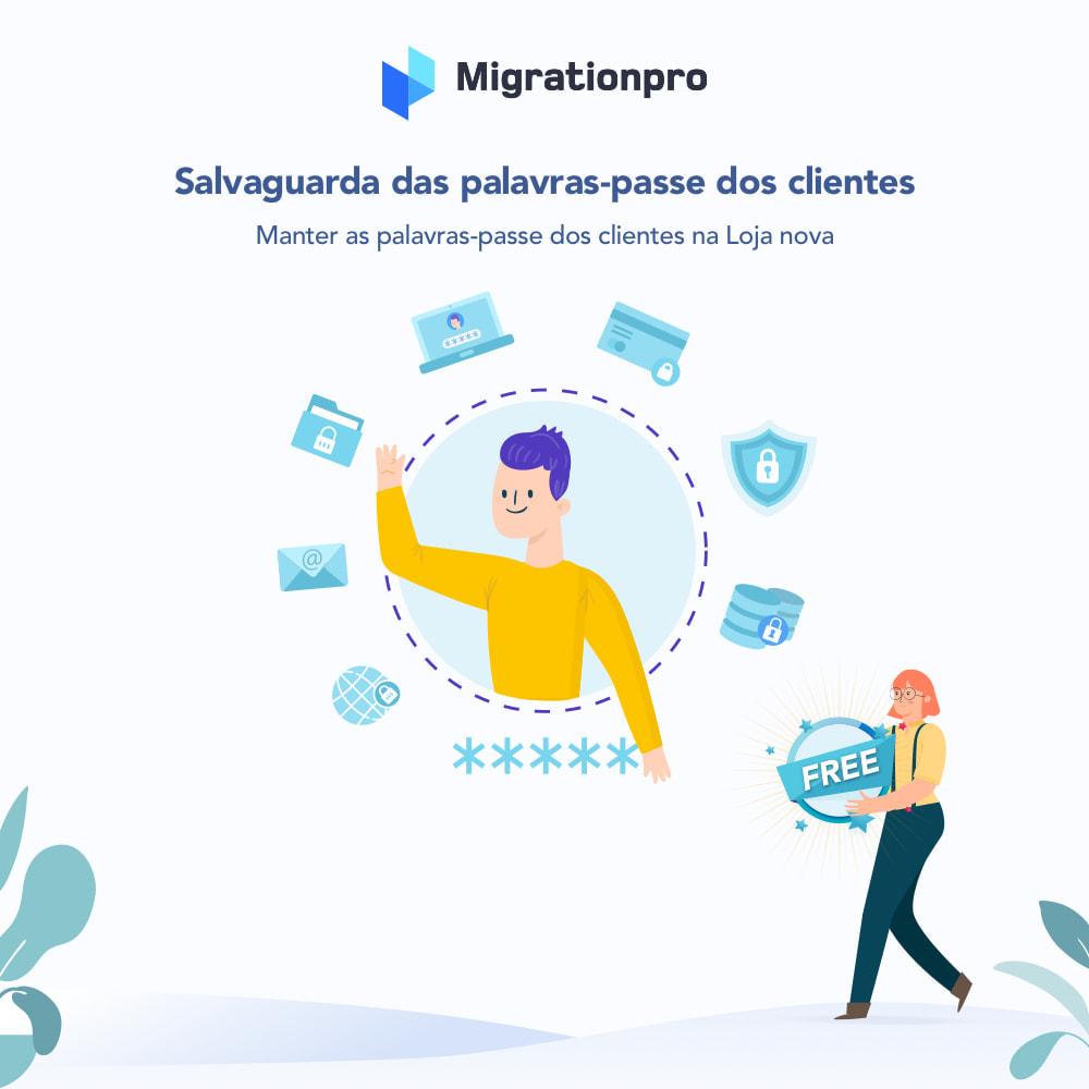 module - Migração de Dados & Registro - Ferramenta de Migração de Magento para PrestaShop - 4