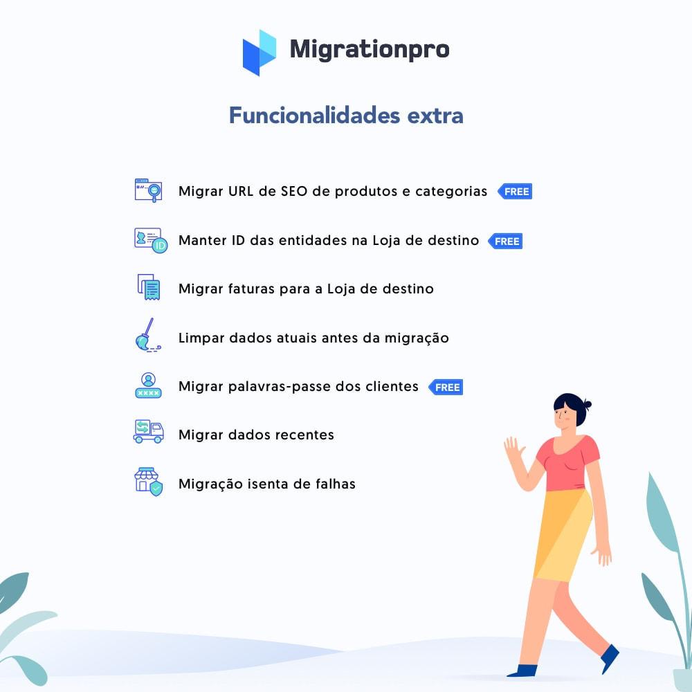 module - Migração de Dados & Registro - Ferramenta de Migração de Magento para PrestaShop - 5