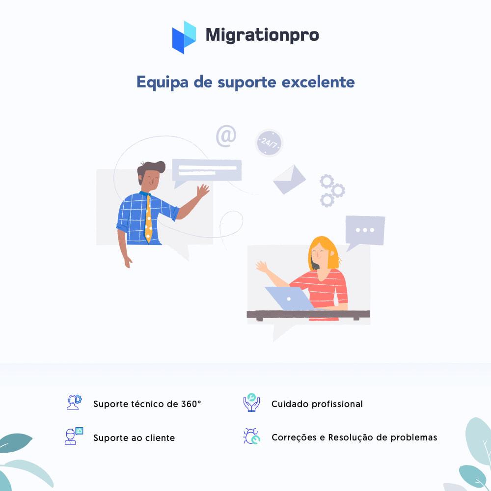 module - Migração de Dados & Registro - Ferramenta de Migração de Magento para PrestaShop - 8
