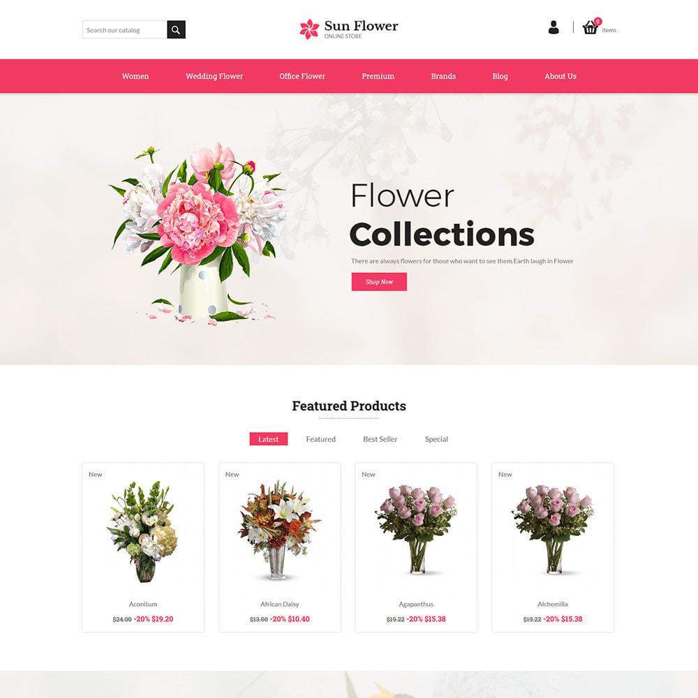 theme - Cadeaux, Fleurs et Fêtes - Cadeau de fleur - Magasin de chocolat de célébration - 3