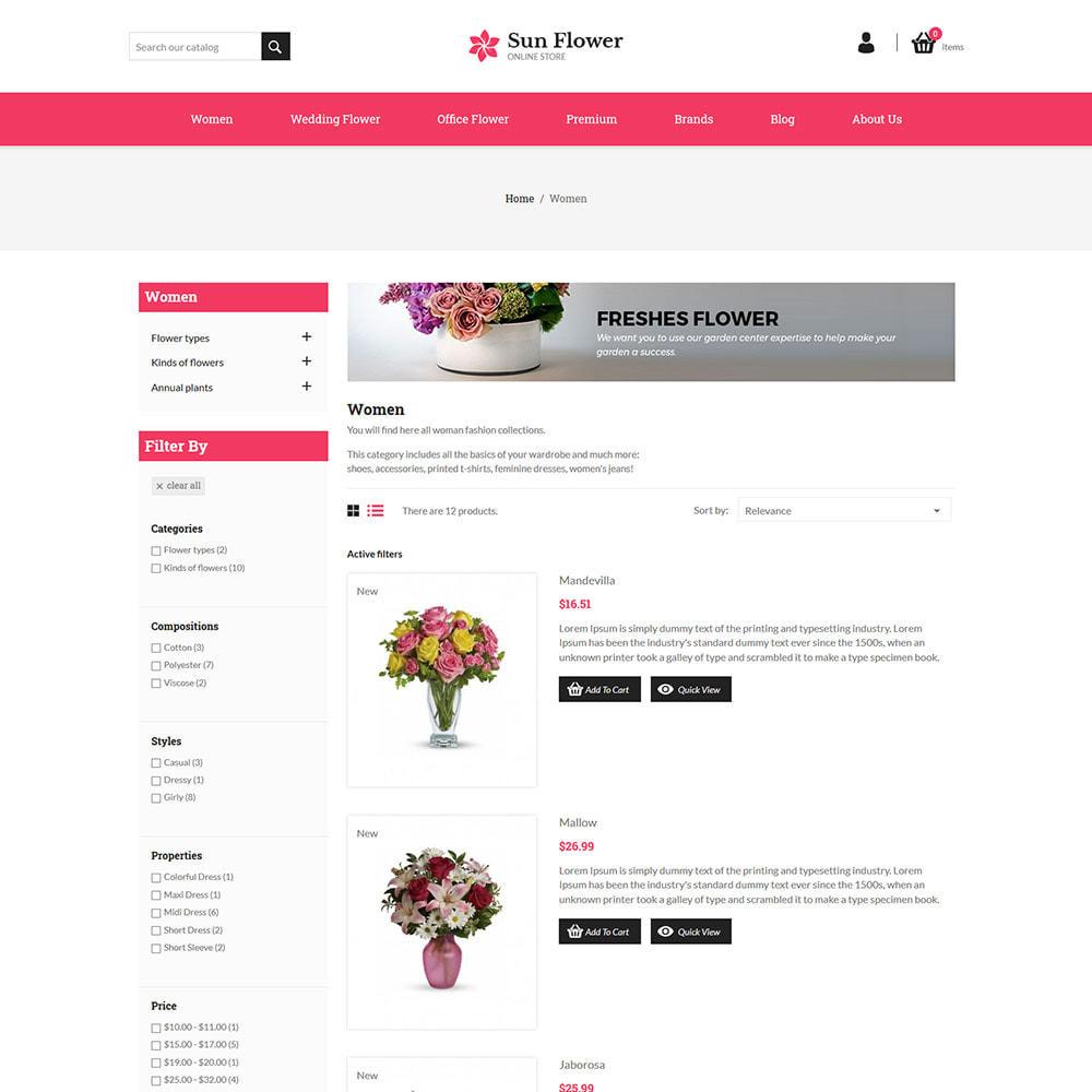 theme - Cadeaux, Fleurs et Fêtes - Cadeau de fleur - Magasin de chocolat de célébration - 6