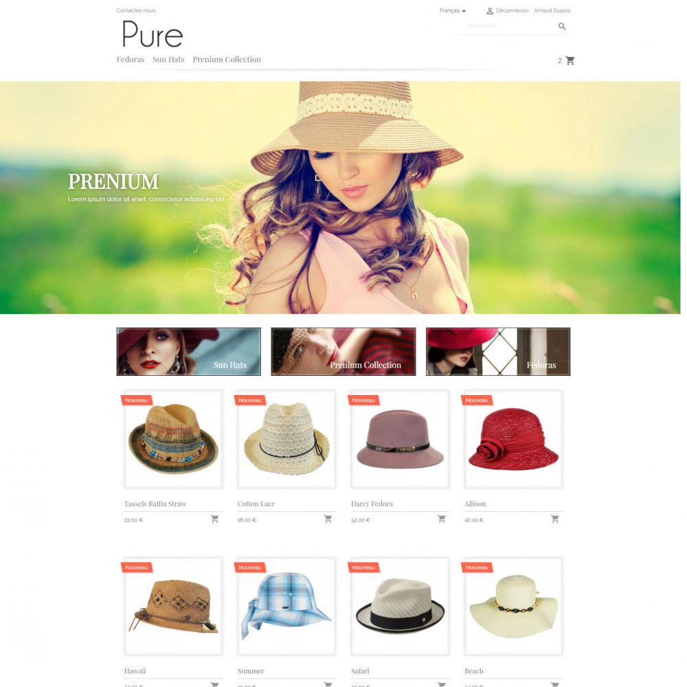theme - Mode & Chaussures - Pure - 3
