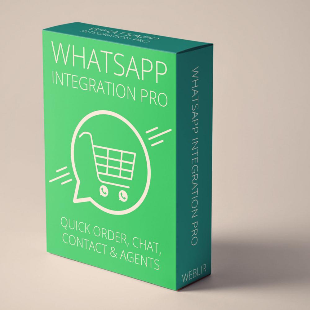 module - Suporte & Chat on-line - Integração com WhatsApp PRO - Pedido, Chat, Agentes - 1