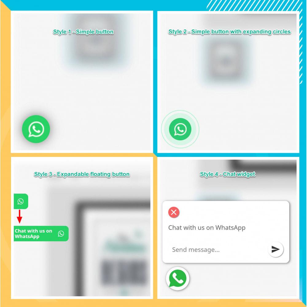 module - Asistencia & Chat online - Integración de WhatsApp PRO: pedido, chat, agentes - 15